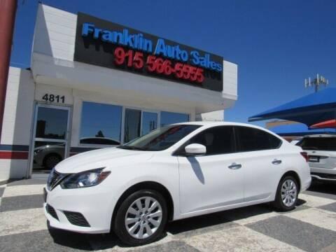 2017 Nissan Sentra for sale at Franklin Auto Sales in El Paso TX