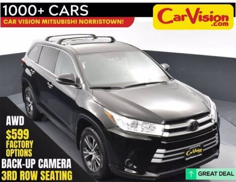 2018 Toyota Highlander for sale at Car Vision Buying Center in Norristown PA
