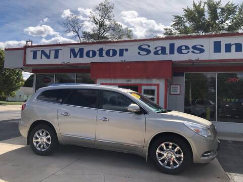 2013 Buick Enclave for sale at TNT Motor Sales in Oregon IL