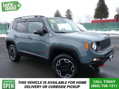 2016 Jeep Renegade for sale at Shamrock Motors in East Windsor CT