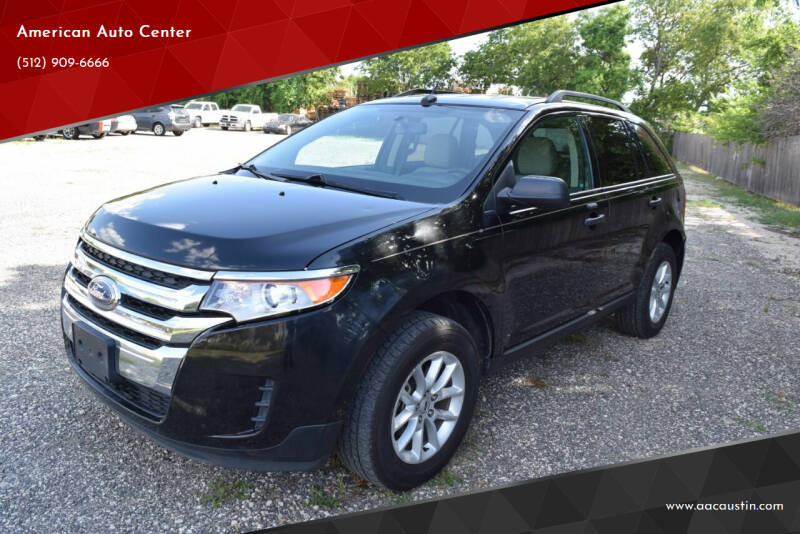 2014 Ford Edge for sale at American Auto Center in Austin TX