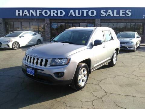 2015 Jeep Compass for sale at Hanford Auto Sales in Hanford CA