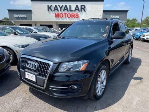 2012 Audi Q5 for sale at KAYALAR MOTORS in Houston TX