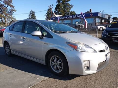 2010 Toyota Prius for sale at All American Motors in Tacoma WA