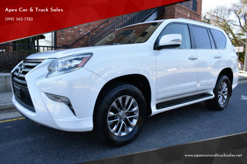 2015 Lexus GX 460 for sale at Apex Car & Truck Sales in Apex NC