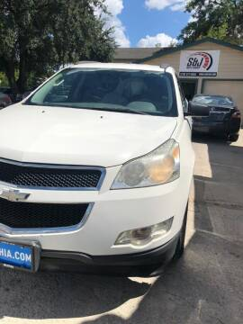 2011 Chevrolet Traverse for sale at S & J Auto Group in San Antonio TX