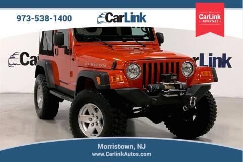 2005 Jeep Wrangler for sale at CarLink in Morristown NJ