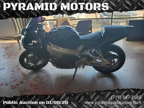 2001 Honda CBR929 for sale at PYRAMID MOTORS - Pueblo Lot in Pueblo CO