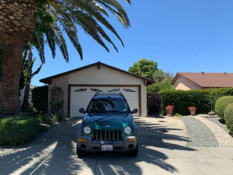 2004 Jeep Liberty for sale at Blue Eagle Motors in Fremont CA