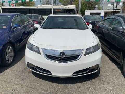 2013 Acura TL for sale at Park Avenue Auto Lot Inc in Linden NJ