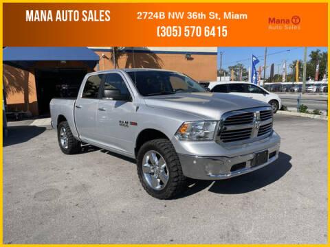 2016 RAM Ram Pickup 1500 for sale at MANA AUTO SALES in Miami FL