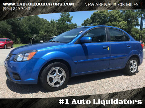 2010 Kia Rio for sale at #1 Auto Liquidators in Yulee FL
