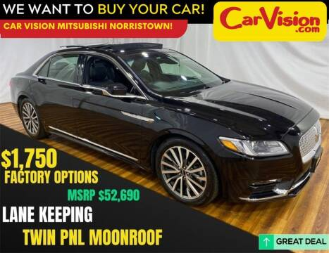 2019 Lincoln Continental for sale at Car Vision Mitsubishi Norristown in Norristown PA