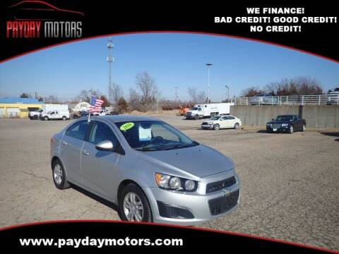 2016 Chevrolet Sonic for sale at Payday Motors in Wichita And Topeka KS
