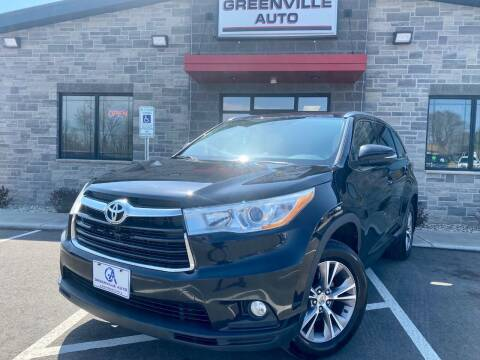 2014 Toyota Highlander for sale at GREENVILLE AUTO in Greenville WI