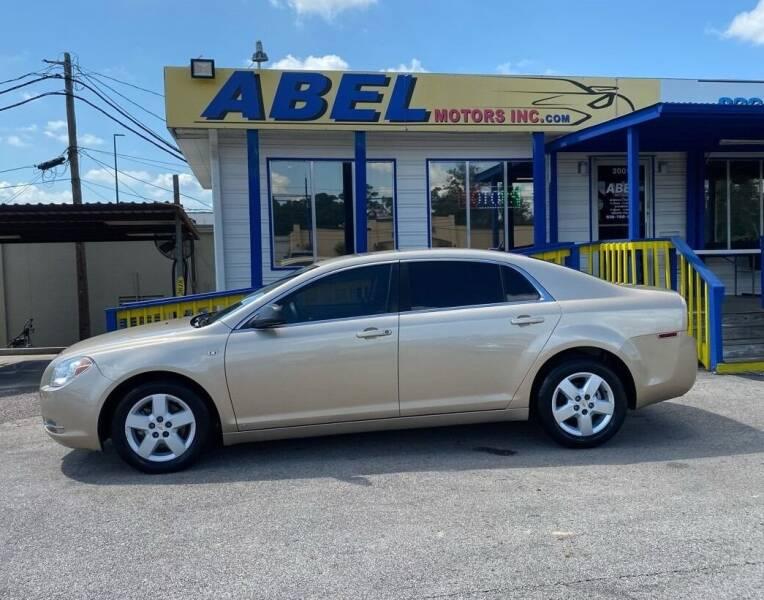2008 Chevrolet Malibu for sale at Abel Motors, Inc. in Conroe TX