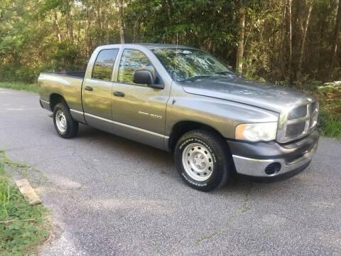 2005 Dodge Ram Pickup 1500 for sale at J & J Auto of St Tammany in Slidell LA