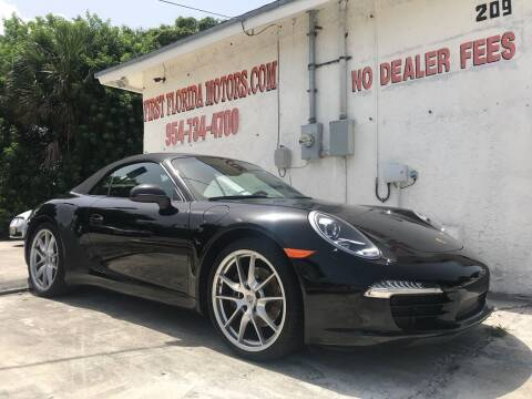 2013 Porsche 911 for sale at FIRST FLORIDA MOTOR SPORTS in Pompano Beach FL