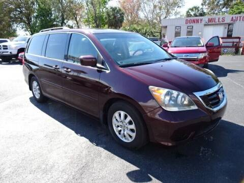 2009 Honda Odyssey for sale at DONNY MILLS AUTO SALES in Largo FL