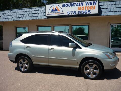 2007 Lexus RX 350 for sale at Mountain View Motors Inc in Colorado Springs CO