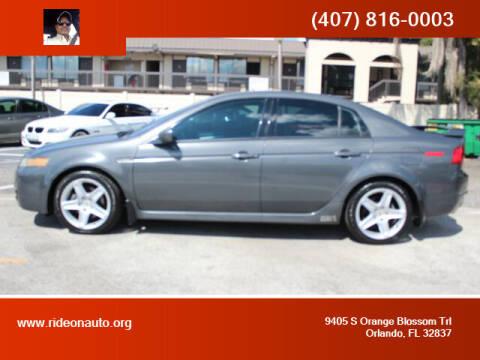 2005 Acura TL for sale at Ride On Auto in Orlando FL