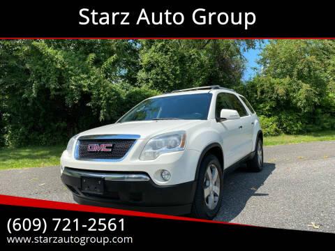 2010 GMC Acadia for sale at Starz Auto Group in Delran NJ