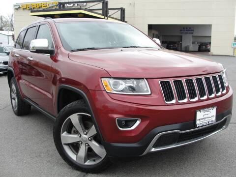 2014 Jeep Grand Cherokee for sale at Perfect Auto in Manassas VA