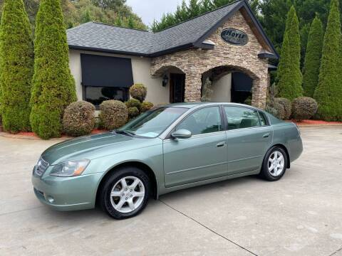2006 Nissan Altima for sale at Hoyle Auto Sales in Taylorsville NC