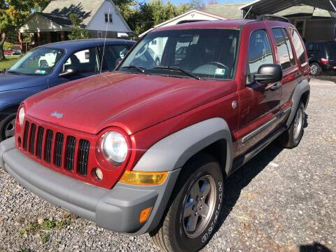 2006 Jeep Liberty for sale at DOUG'S USED CARS in East Freedom PA