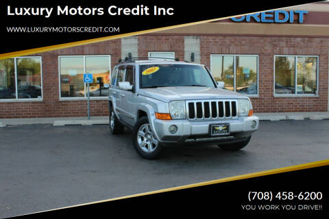 2007 Jeep Commander for sale at Luxury Motors Credit Inc in Bridgeview IL
