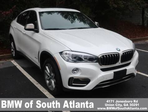 2016 BMW X6 for sale at Carol Benner @ BMW of South Atlanta in Union City GA