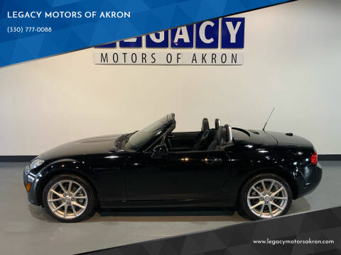 2012 Mazda MX-5 Miata for sale at LEGACY MOTORS OF AKRON in Akron OH