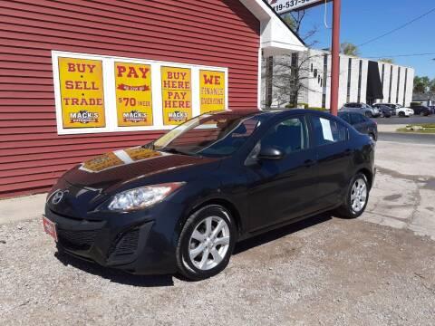 2010 Mazda MAZDA3 for sale at Mack's Autoworld in Toledo OH