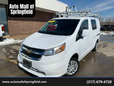 2015 Chevrolet City Express Cargo for sale at Auto Mall of Springfield north in Springfield IL