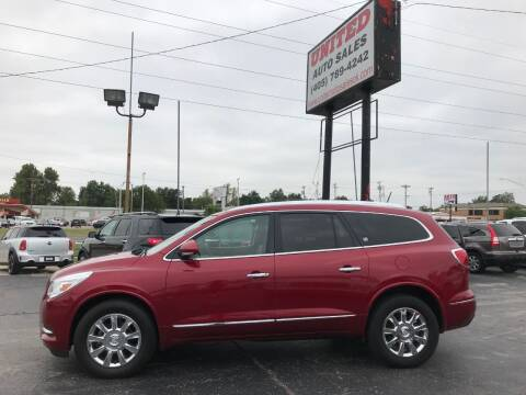 2014 Buick Enclave for sale at United Auto Sales in Oklahoma City OK