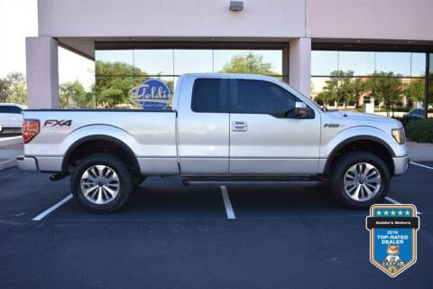 2013 Ford F-150 for sale at GOLDIES MOTORS in Phoenix AZ