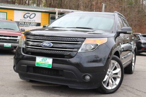 2013 Ford Explorer for sale at Go Auto Sales in Gainesville GA