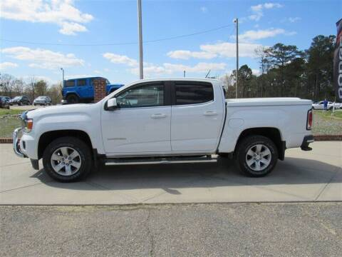 2015 GMC Canyon for sale at J T Auto Group in Sanford NC