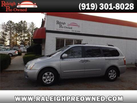 2009 Kia Sedona for sale at Raleigh Pre-Owned in Raleigh NC
