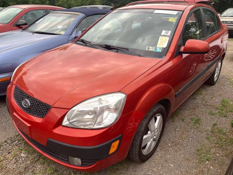 2007 Kia Rio for sale at Trocci's Auto Sales in West Pittsburg PA