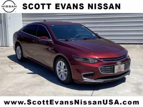 2016 Chevrolet Malibu for sale at Scott Evans Nissan in Carrollton GA