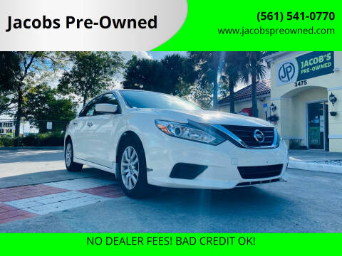 2017 Nissan Altima for sale at Jacobs Pre-Owned in Lake Worth FL