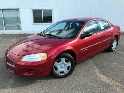 2001 Dodge Stratus for sale at STATELINE CHEVROLET BUICK GMC in Iron River MI