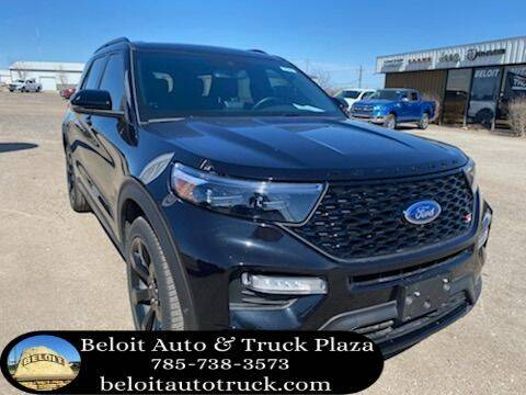 2020 Ford Explorer for sale at BELOIT AUTO & TRUCK PLAZA INC in Beloit KS