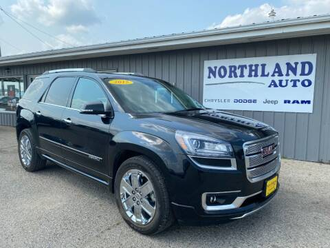 2015 GMC Acadia for sale at Northland Auto in Humboldt IA
