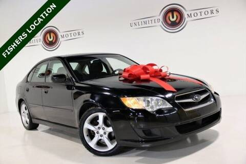 2009 Subaru Legacy for sale at Unlimited Motors in Fishers IN