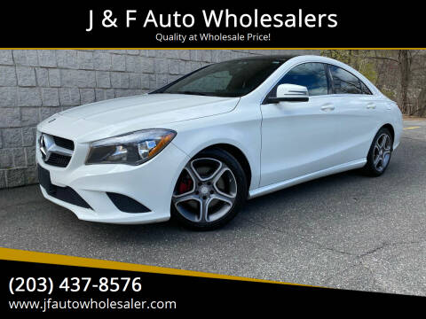 2014 Mercedes-Benz CLA for sale at J & F Auto Wholesalers in Waterbury CT