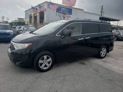 2015 Nissan Quest for sale at INTERNATIONAL AUTO BROKERS INC in Hollywood FL