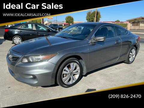 2011 Honda Accord for sale at Ideal Car Sales in Los Banos CA