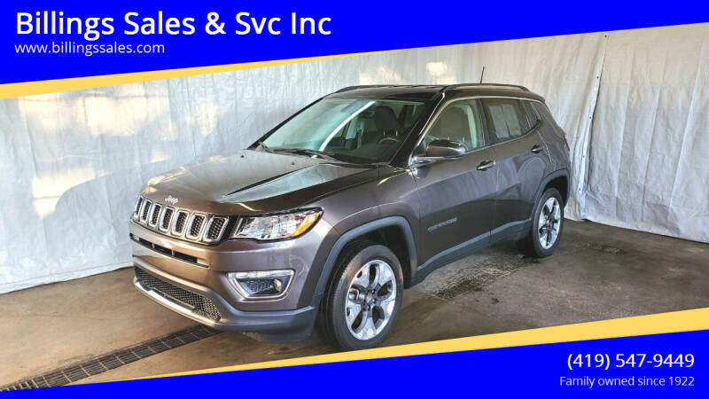 2018 Jeep Compass for sale at Billings Sales & Svc Inc in Clyde OH